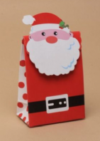Velcro fastening santa gift bag-various sizes (Code 4241)